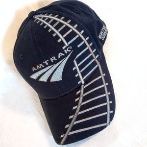 NwT - Adult Amtrak Baseball Cap Hat Embroidered